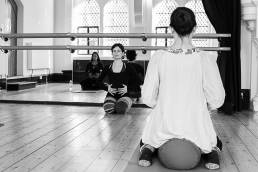 Pregnancy ballet, babywearing ballet, mum & baby ballet